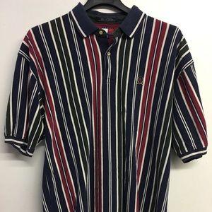 Vintage XL Tommy Hilfiger Polo striped men's shirt